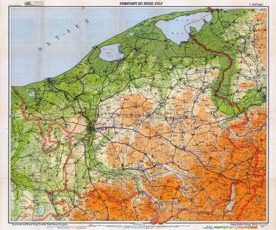 Archiwalne Mapy Pomorza Gdanskiego